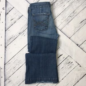 CITIZENS OF HUMANITY Kate Low Waist Full Leg Jeans